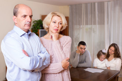 Family Caregiver Aging Adult Conflict